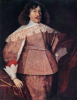 Janusz Radziwiłł (1612–1655) - Image: Januš Radzivił. Януш Радзівіл (B. Strobel, 1634)