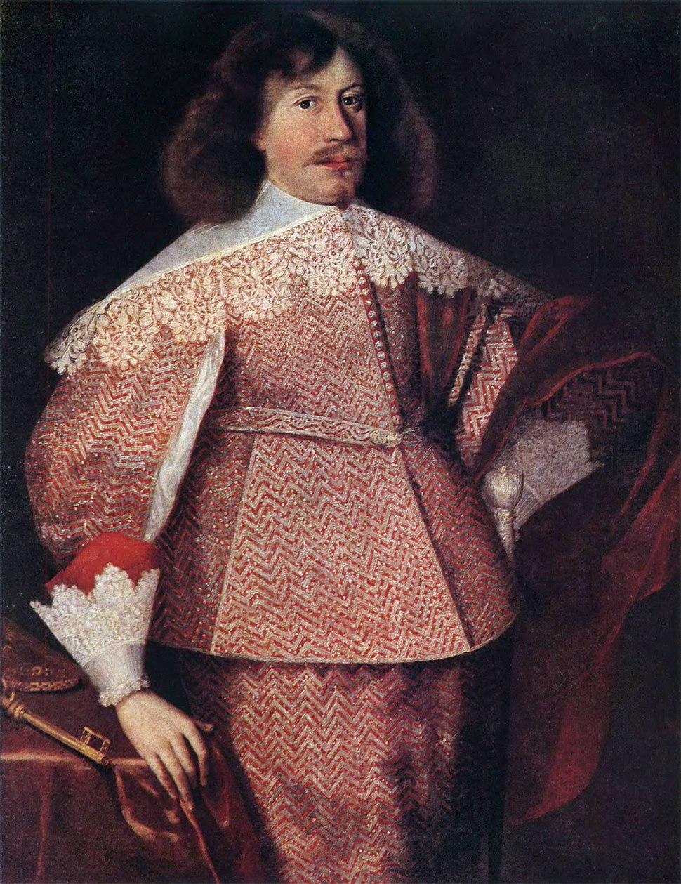 Januš Radzivił. Януш Радзівіл (B. Strobel, 1634)