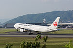 Japan Air Lines, B-767-300, JA602J (17167262089).jpg