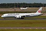 Japan Airlines, JA868J, Boeing 787-9 Dreamliner (37087531671).jpg