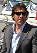 Photo of Javier Bardem at the Cannes Film Festival.