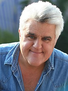 Jay Leno - the cool, friendly, fun,  tv-personality, actor, comedian,   with Scottish, Italian,  roots in 2019