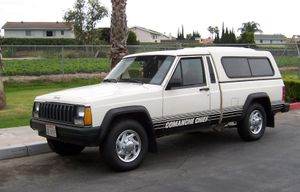 Jeep Comanche - Jeep Comanche Chief with aftermarket modifications