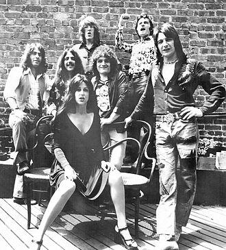 Jefferson Starship - Promotional shot in 1976
