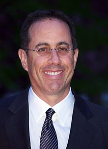 Jerry Seinfeld - the talented, nice, clever, intelligent, funny, amusing,  actor  with Austrian, Syrian,  roots in 2019
