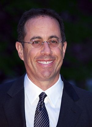 English: Jerry Seinfeld at the Vanity Fair par...