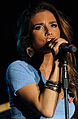 Jessie James performing in Hangar 1, Ramstein Air Base 06.jpg