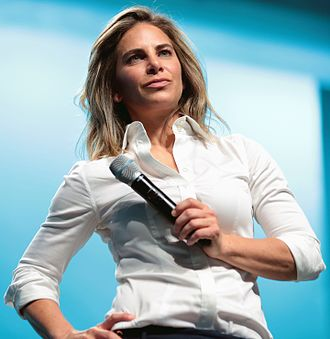Jillian Michaels - Michaels speaking at the 2017 ICON event in April 2017.