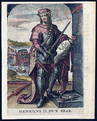 Henry II, Duke of Brabant - Image: Jindra 2 Brabant