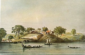 Jodensavanne - Jodensavanne around 1830