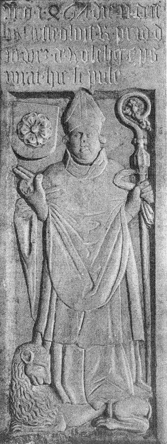 Roman Catholic Archdiocese of Wrocław - Jošt of Rožmberk, 24th Bishop of Wrocław