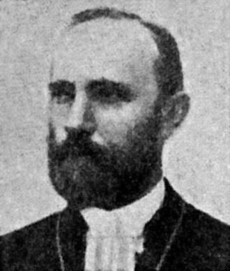 Johan August Ekman - Image: Johan August Ekman, Archbishop of Uppsala, SBH
