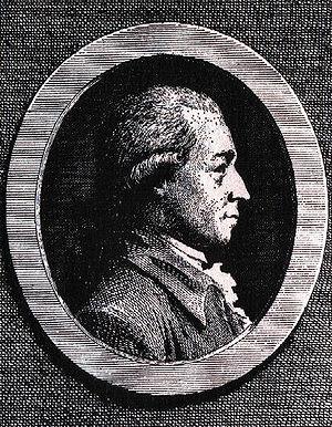 Johann Karl Wezel - Copper engraving by Christian Gottlieb Geyser