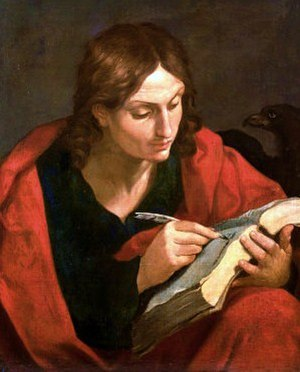 New Testament people named John - Guido Reni, St. John the Evangelist, 17th century.