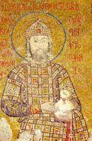 Mosaico de Xo�n II na Igrexa de Santa Sof�a