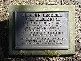 John Benjamin Macneill - Funerary monument, Brompton Cemetery, London