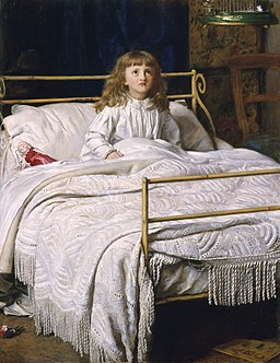 John Everett Millais - Waking, 1865, Perth