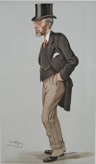 John Gilbert Talbot - Talbot as caricatured by Spy in Vanity Fair, July 1897