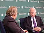 John McCain and Walter Russell Mead 22417050617.jpg