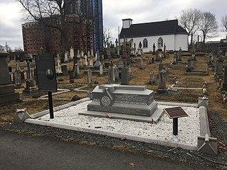 John Sparrow David Thompson - John Thompson Grave, Holy Cross Cemetery, Halifax, Halifax, Nova Scotia