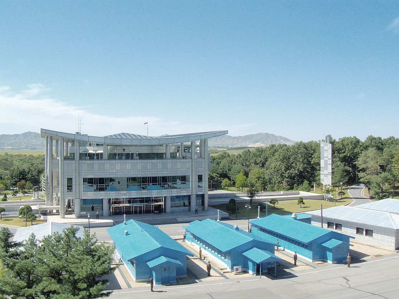 File Joint Security Area Demilitarized Zone Korea