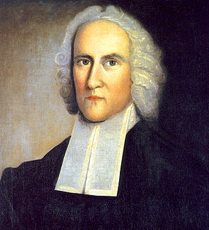 Rev. Jonathan Edwards, a leader of the Great A...