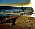 Jonathon Versaci at the beach IMG 4604.jpg