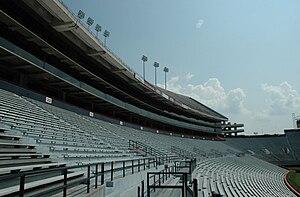 Jordan–Hare Stadium - Image: Jordan Hare East Stands