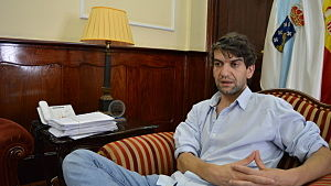 Ferrol en Común - Jorge Suárez, current mayor of Ferrol.