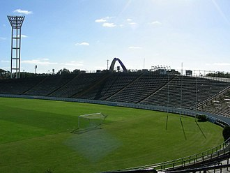 Estadio José María Minella - The Pan America Cauldron was installed for the 12th Pan American Games.