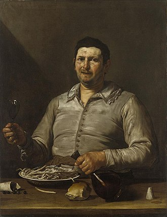 The Five Senses (Ribera) - Image: José de Ribera Sense of Taste WGA19357