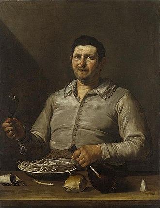 Jusepe de Ribera - Sense of taste