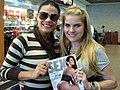 Joseane Oliveira and her magazine.jpg
