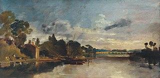 The Thames near Walton Bridges