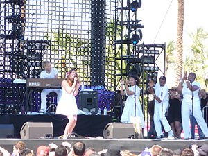 Colour Me Free! - Stone performing at Coachella on 18 April 2009