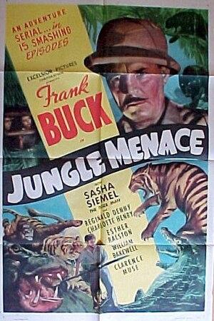 Sasha Siemel - Original poster for Jungle Menace (1937)