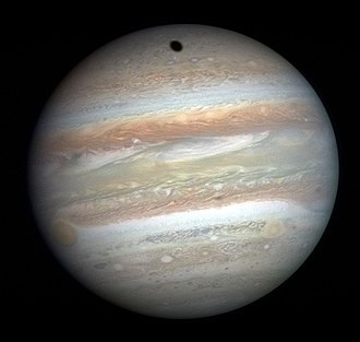 Gas giant - Jupiter photographed by New Horizons in January 2007