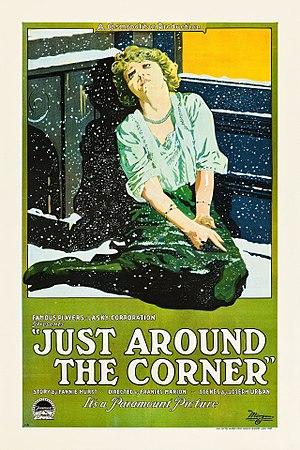 Just Around the Corner (1921 film) - Film poster