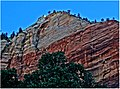 Just The Tippy Top! Zion NP, Sunrise 5-1-14zc (14167851427).jpg