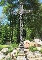 Kříž s kapličkou svatého Pavla u penzionu Modrý jelen v Lipně nad Vltavou (Q80457512) 02.jpg