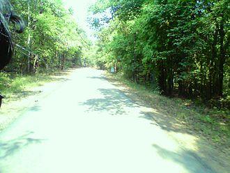 Karlapat Wildlife Sanctuary - Karlapat Road
