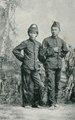 KITLV - 80262 - Kleingrothe, C.J. - Medan - Javanese soldiers, presumably in the east coast of Sumatra - 1898.tif