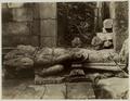 KITLV 28109 - Kassian Céphas - Fallen sculpture of Shiva in the Shiva Temple of Prambanan near Yogyakarta - Around 1888.tif
