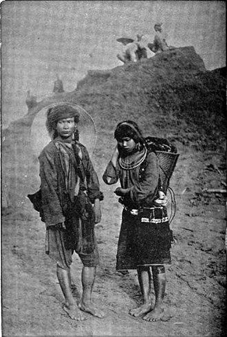 Kachin people - Kachins c. 1900