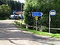 Kalinova Ves, autobusová zastávka a automix.jpg