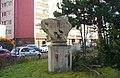 Kamenná plastika Býk v ulici U Bazénu v Písnici (Q94433508) 01.jpg