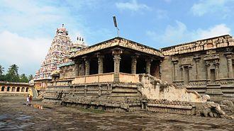 Kampaheswarar Temple, Thirubuvanam - Image: Kampaheswarar Temple