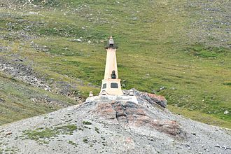 Cape Dezhnev - Image: Kap Deschnjow 1 2013 08 02