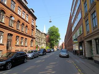 Kapelvej street in Copenhagen