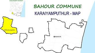 Bahour Commune - Image: Karaiyamputhur BHR